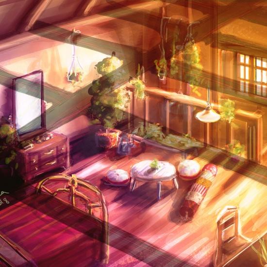Shiemi's Room