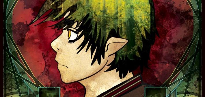 Grungy Amaimon Side Portrait